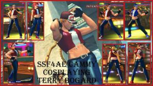 Cammy terry bogard female by salimano3