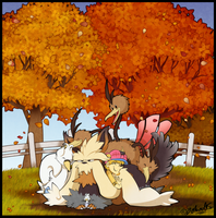 HPM - Group Hug by TamarinFrog