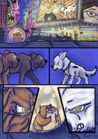 Bolt, Dog Fight deleted Scene. Pg 3 of 6. by wolfmarian