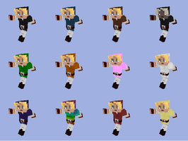 Link Minecraft skin pack by crazyevilgirl