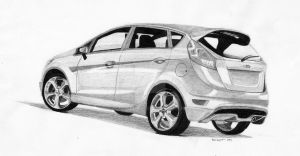 Ford Fiesta 1.6 A/T by TGSenough