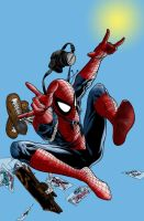 Spiderman Coloured by jackbauer89