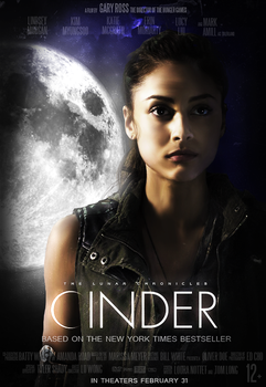 THE LUNAR CHRONICLES fan-made poster [Linh Cinder] by PDada