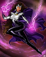 Teen Titans: Blackfire by MissAudi