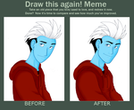 Before and After Meme -Integration - Frankie Zoid by Vee-Freak
