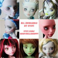 mh dolls in the shop by hellohappycrafts