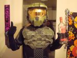 Master Chief and Vodka by Arinoth