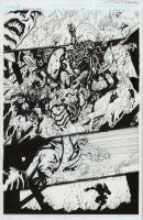 Guardians 3000 original art for sale by Sandoval-Art