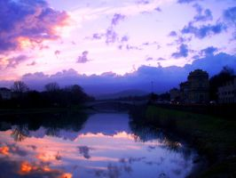 sunrise in florence by annoui