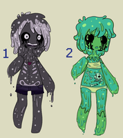   Points/Cash Slime Auction: CLSD   by Vulx-Adoptables