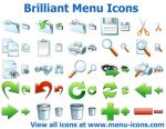 Brilliant Menu Icons by Ikonod