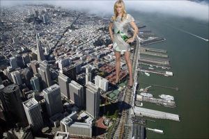 Giantess Reese Witherspoon by ilikemercs