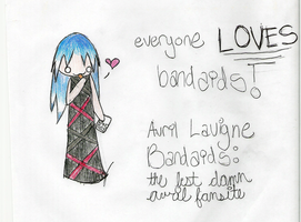 Avril Bandaids Banner 2 by loverlyness