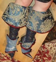 steampunk cavalier boots by thecostumedesigner