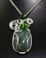 Moss agate by 237743936