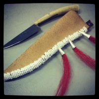 Fashion - 1760's Iroquois Knife by MauserGirl