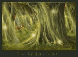 Travelling the Kokiri Forest by ljinx