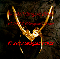 Lady Loki Horns 1 by MorganCrone