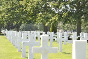 Colleville Cemetery 11 by Cpl-Highway