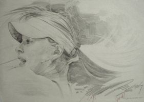 Maria Sharapova by cricetus89