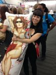Winter Soldier body pillow and Anti Ai-chan by deathraven479