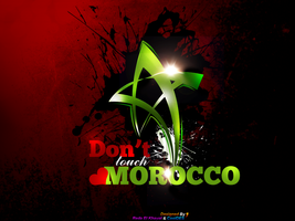 Don't Touch Morocco by CoolDes