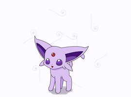 Chibi Espeon by PokeHihi