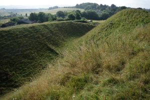 DSC 0147 Old Sarum Hill Fort 6 by wintersmagicstock