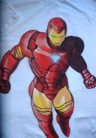 Iron Man - Shirt by Jyuugo