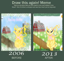 Before And After Meme-Daisy Belle by QueenDanny