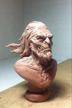 Sculpt-process(White Walker Game Of Thrones) by 111max222