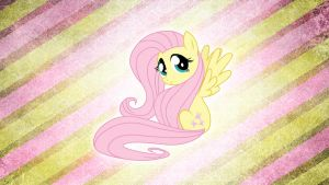 Fluttershy Wallpaper by WazerX