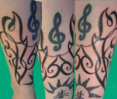 Lacuna Coil tattoo - Finished by Irechan