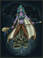 Lilena ++ WoW Druid by ladyofdragons