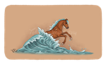 SeaSoul Horses - Icon 6 by Tattered-Dreams