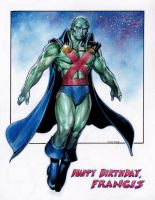 Martian Manhunter by Reverie-drawingly