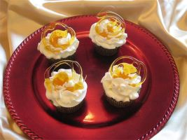 Caramel Frap Cupcakes by Deathbypuddle