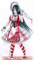 Guro lolita Stockings Design by Kythana