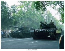 Warsaw military parade tanks by SoundOfColor