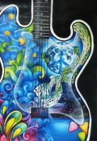 Blues Guitar 2 by Kyla-Nichole