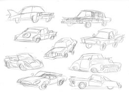 Pony Cars by Sketchywolf-13