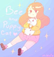 Bee And PuppyCat by M-leef