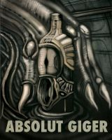 Absolut Giger by Fishmas