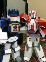 Soundwave Cosplay: Debut - Kawaii Kon 2013 Take 4 by Straws-of-Death