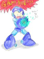 Paranoid Megaman by t2thefox