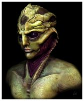DRELL Warrior by chermilla