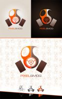 Pixel Smog  - personal logo by freakedOutMe