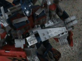 Optimus Prime gun prototype by cronoseprime