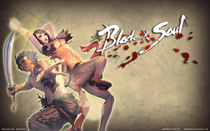Blade n Soul Wallpaper Design 2 by ZeroJigoku