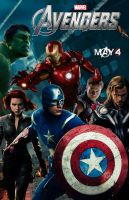 The Avengers movie poster by DComp